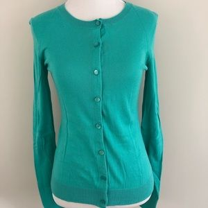 Gap - Light weight teal cardigan - size small